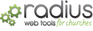 Radius Web Tools For Churches