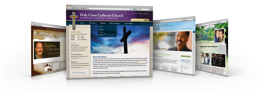 websites for ministry made easy